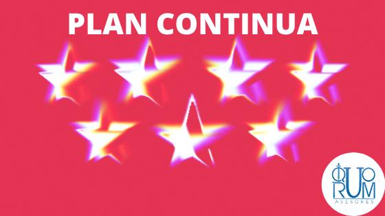 Ayudas C.Madrid Plan Continúa